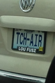 God talks thru license plates