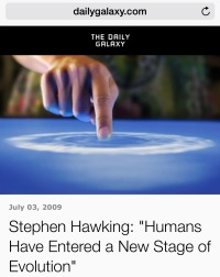 Evolution of the Species - Thomas Hunt - Stephen Hawking