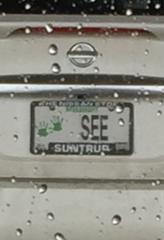 See God License Plate - Thomas Hunt
