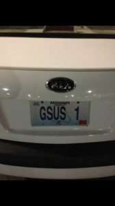 God talks thru license plates - Thomas Hunt